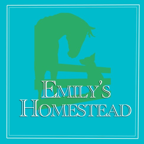 Emily's Homestead Logo Teal and Green