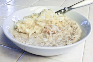 Peanut Butter Banana Oatmeal (5 of 6)