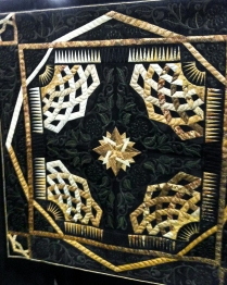 This quilt was massive. I loved the texture on this one.