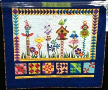 This quilt was done by a woman to tribute the uniqueness of her friends. So cute!