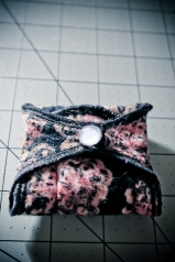Finished and folded cloth pad