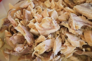 Frozen Cooked Shredded Chicken