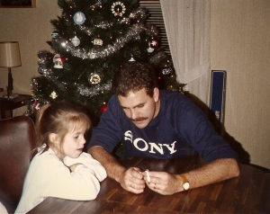 My dad always took the time to show me how to do things.
