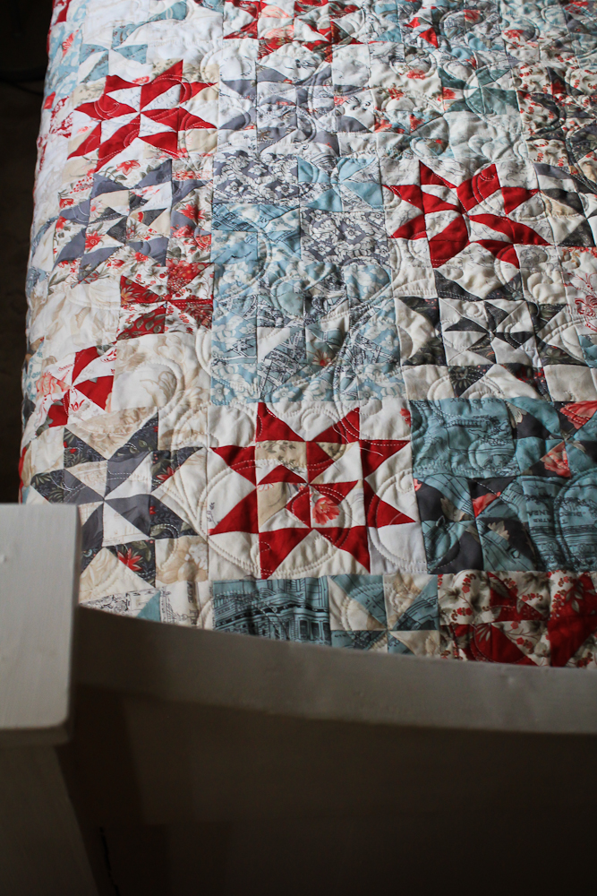 Spring Quilt Finished-7
