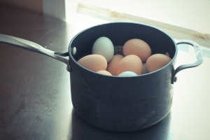 Steaming Eggs-5