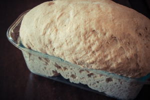 Bread from sprouted flour