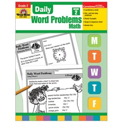 Daily Word Problems Grade 2