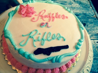 Ruffles or Rifles Cake