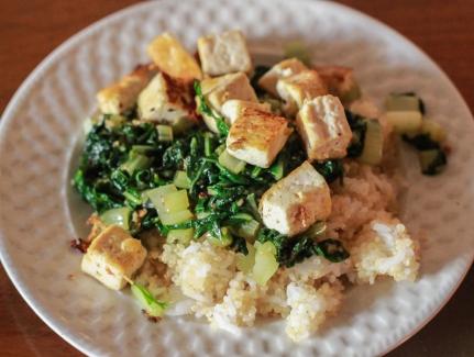 Ginger Garlic Bok Choy Stir Fry-5