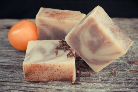 Orange Clove Soap-2