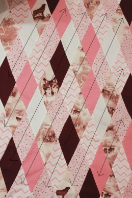 Diamond Baby Quilt-10a