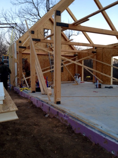 Timber Frame and SIPs panel construction