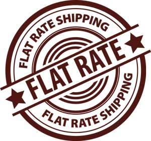 flat rate logo
